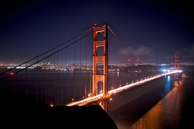 bridge at night | Published December 3, 2011 at 1623 × 1080 in Golden Gate Bridge at ...