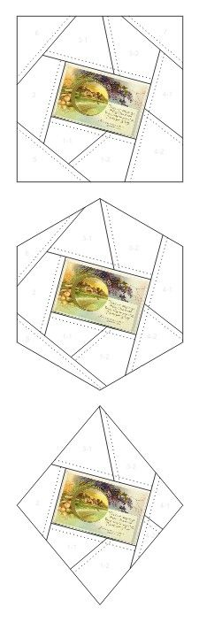 Thanksgiving Day crazy quilt block patterns posted on Janet Stauffacher's Nostalgic NeedleART blog in 2012.