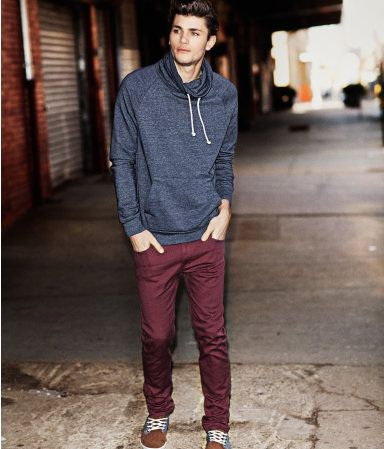 1000 Ideas About Burgundy Pants Men On Pinterest Maroon