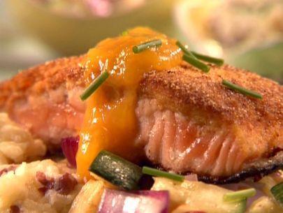 Corny Mango Salmon