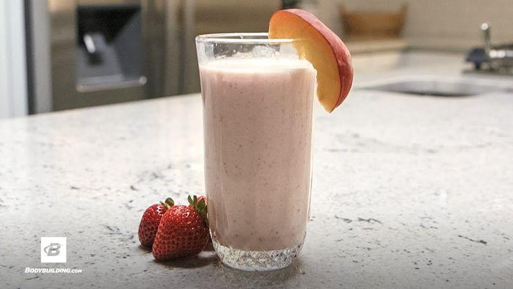 Super Peach Shake | Quick Recipes - YouTube
