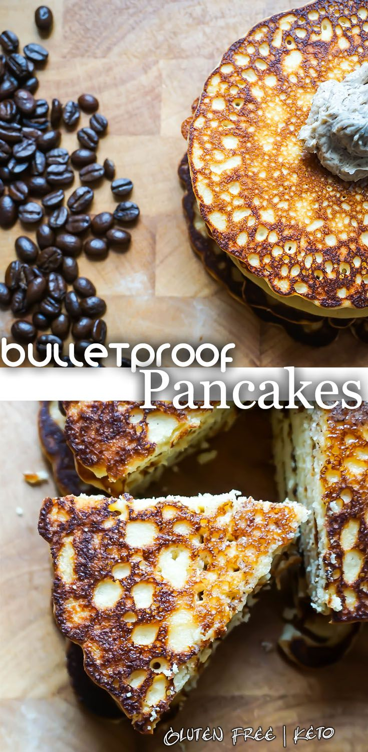 Bulletproof Coffee in pancake form. And everything is better in pancake form!