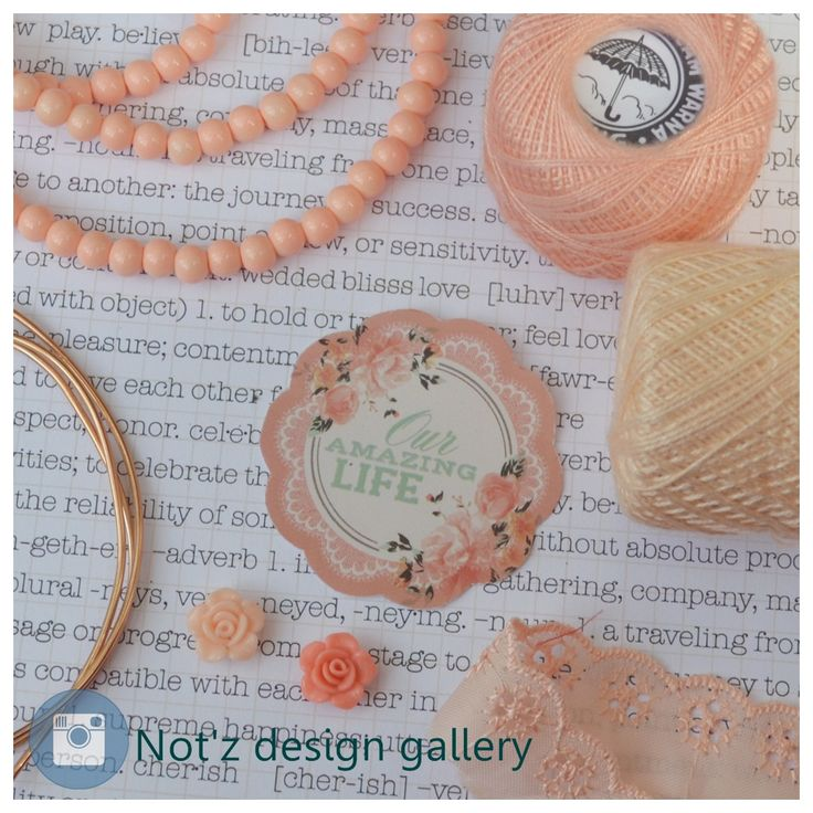 craft things peach.. i love it