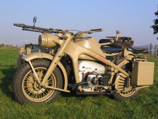 Wehrmachtsgespann Zündapp K750 Bj.44