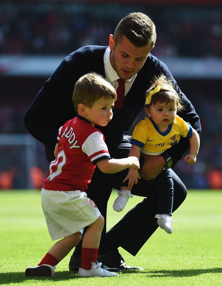 Jack Wilshere of Arsenal FC