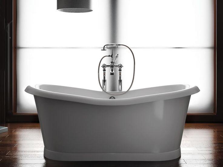 Ein Bad für zwei! Die #Badewanne Preston big. Äusserlich klassisch, innen ein grosszügiger Innenkörper mit hohem Wannenrand der das Baden zu zweit zu einem erholsamen Wohlfühlerlebnis werden lässt. http://www.baedermax.ch/freistehende-badewannen/acryl/preston-big-65cw.html