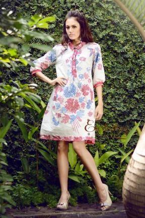20244 Isabel Batik Dress