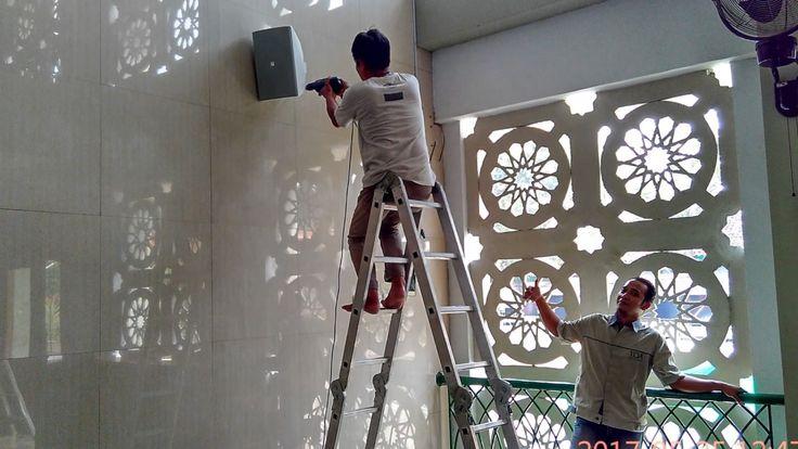 Aplikasi TOA ZS-F2000BM & ZS--1030B untuk Masjid dan Musholla