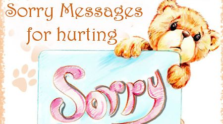 Innovative thoughtful and inspiring sorry text messages for – Apology Card Messages