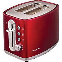 Morphy Richards 220004 Elipta 2 Slice Toaster - Red.