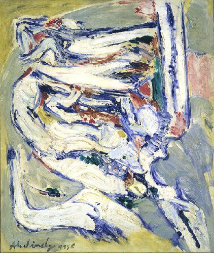 'Hommage à Ensor' (1956) by Pierre Alechinsky