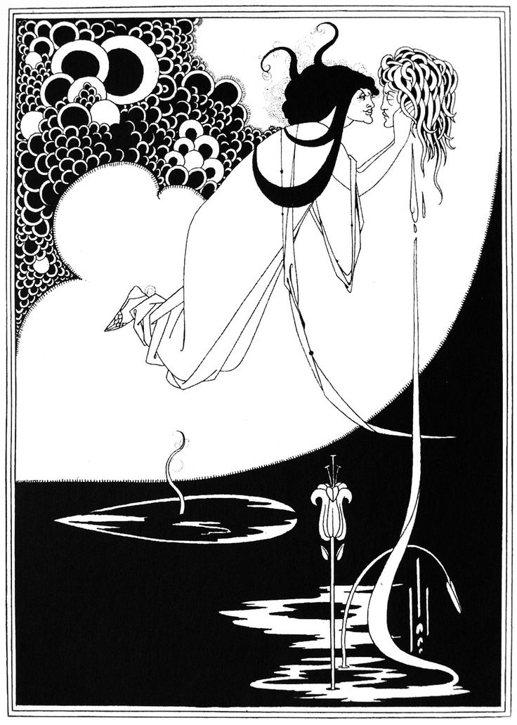 Aubrey Beardsley - When I was a kid, I had 3 of these posters on my wall. I loved looking at Beardsley to use to influence my own pen and ink journey