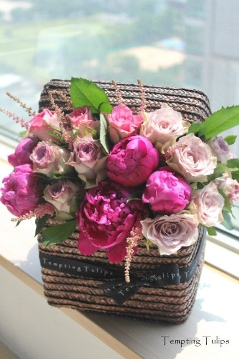 Square Box by Tempting Tulips http://temptingtulips.co.kr 템팅튤립스 스퀘어박스 150,000 KRW