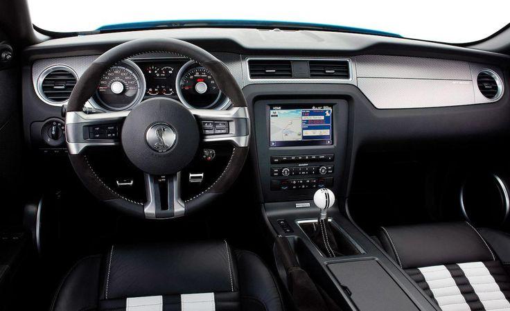 2015 Ford Mustang GT500 Interior