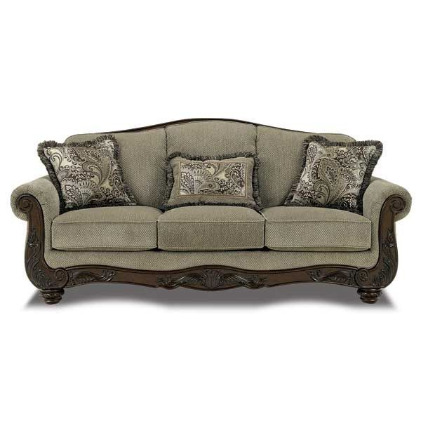 Superior American Furniture Warehouse    Virtual Store    Meadow Taupe Sofa