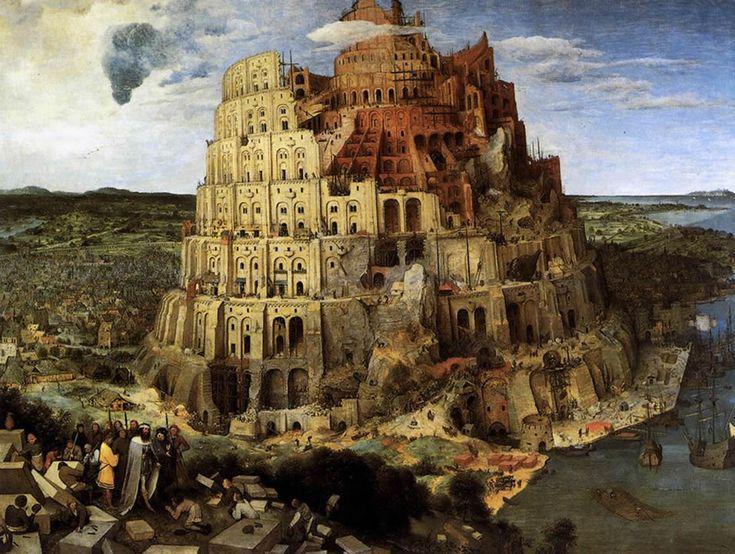 вавилонская башня - Поиск в Google