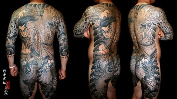 Japanese Irezumi tattoo ~ 'yakuza' style tattoos