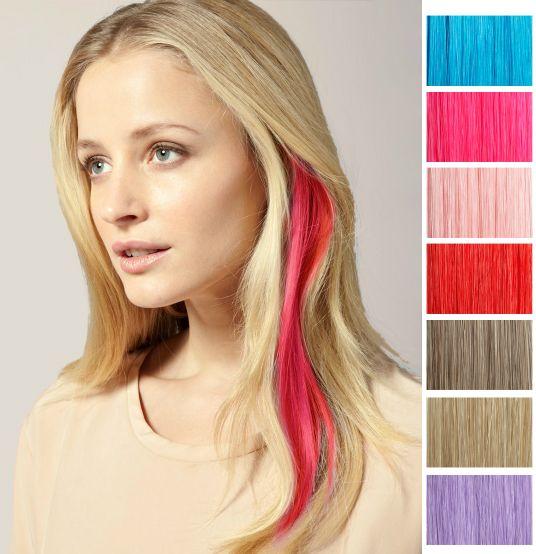 mechas de colores en el cabello - Google Search | color | Pinterest ...