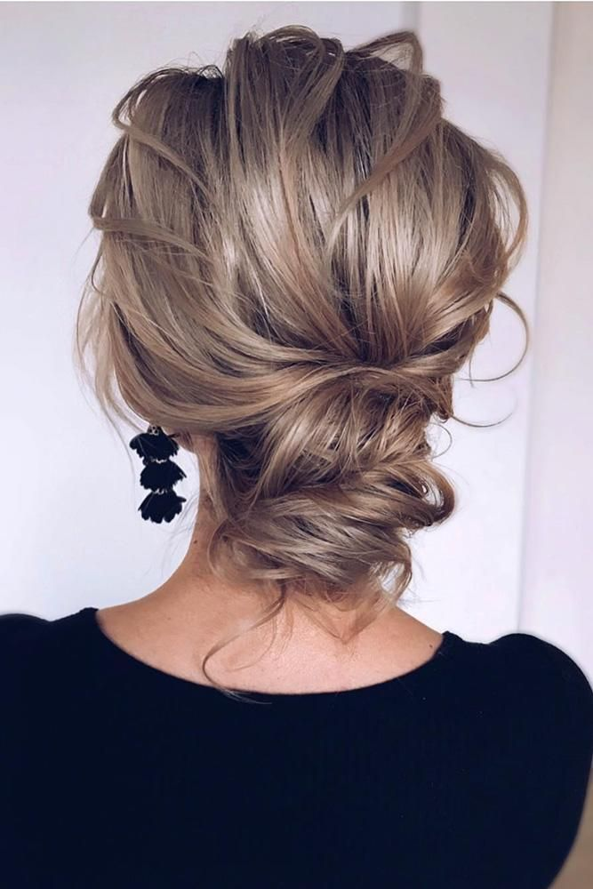 39 Best Pinterest Wedding Hairstyles Ideas Wedding Forward Hair Styles Medium Length Hair Styles Updos For Medium Length Hair