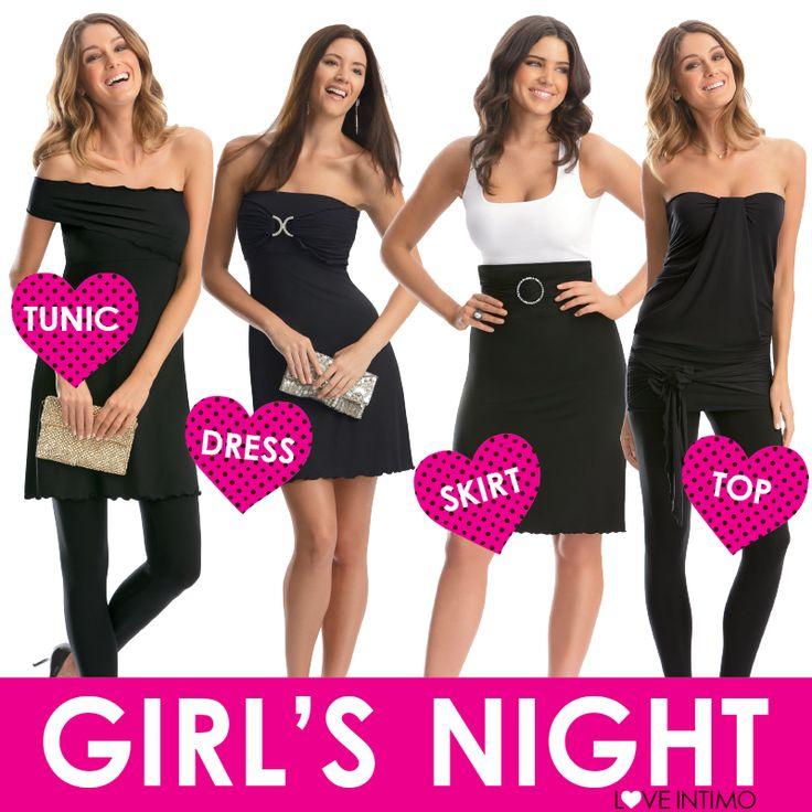 Dress, skirt or top: how do you style your LBD Skirt? https://www.intimo.com.au/shop/item/lbdskirt