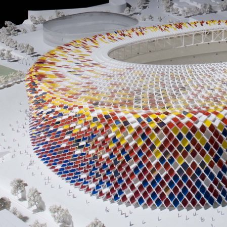 Foster + Partners recently proposed the above design for the refurbishment of Camp Nou, the home of FC Barcelona.