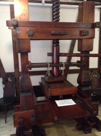Туристический комплекс Этномир: Печатный станок