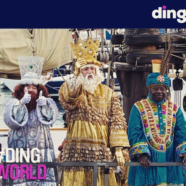 Today Dia de Los Magos is celebrated in Spain! Wishing all of our Spanish friends Felices Reyes! #dingworld #reyes