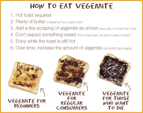 Totally inaccurate in my humble opinion. The method of applying vegemite is entirely an individual preference.