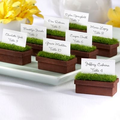 """""""Evergreen"""" Window Planter Holder for Reserved Tables"""