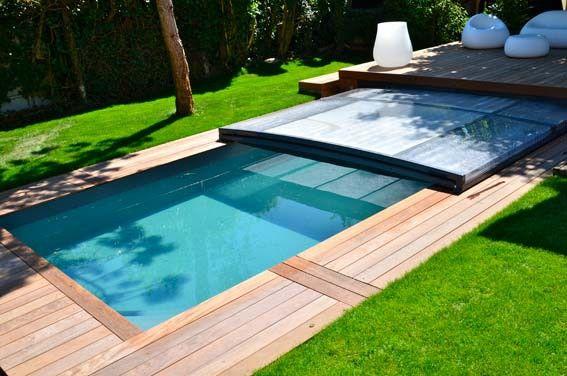 Abri piscine sous terrasse - EURO PISCINES SERVICES