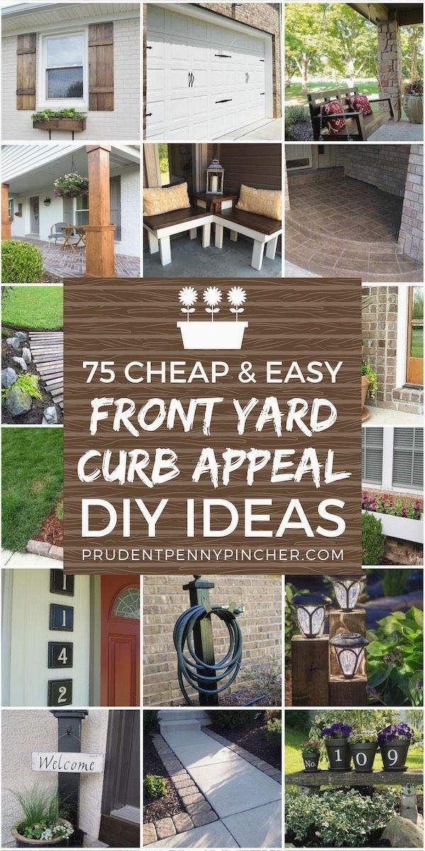 Front Garden Decor Ideas Front Yards Diy Front Yard Decor Front Yards Curb Appeal