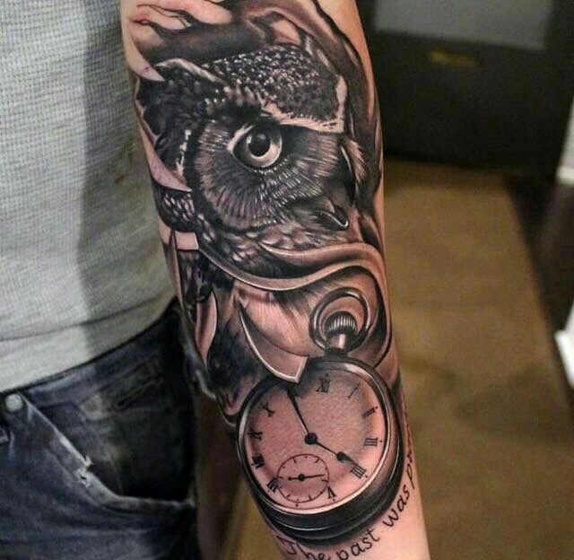 Pin En Tatuajes De Buhos
