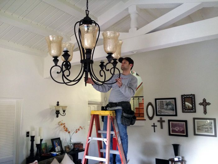 """Looking for someone to install? We got you! Don""""t waste time searching, we instantly connect you and show you services near you by price #Electrician #electric#work#installation#tech#handyman#savemoney#save#money#home#homedecor#homework#cieling#lighting#home"""
