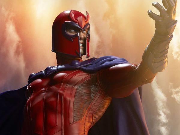 #Marvel Magneto Maquette From Sideshow Toy #Marvel