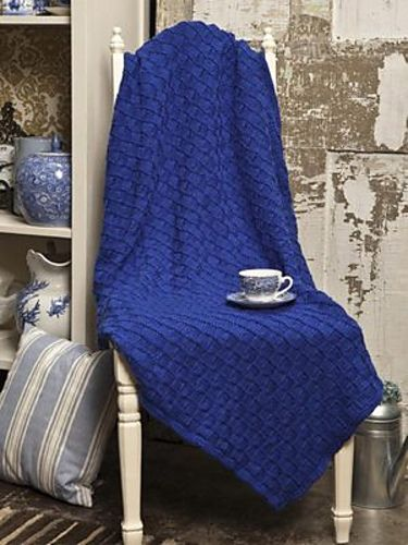 Ravelry: Checkerboard Blanket pattern by Michael del Vecchio
