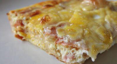 Piperatoi.gr: Σουφλέ με ψωμί του τόστ και τυριά απλό, υπέροχο, γευστικότατο.