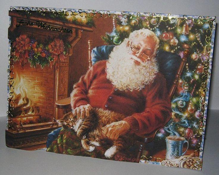 Hab ich gemacht mit der Christmas CD von #MonisBastelstube.de