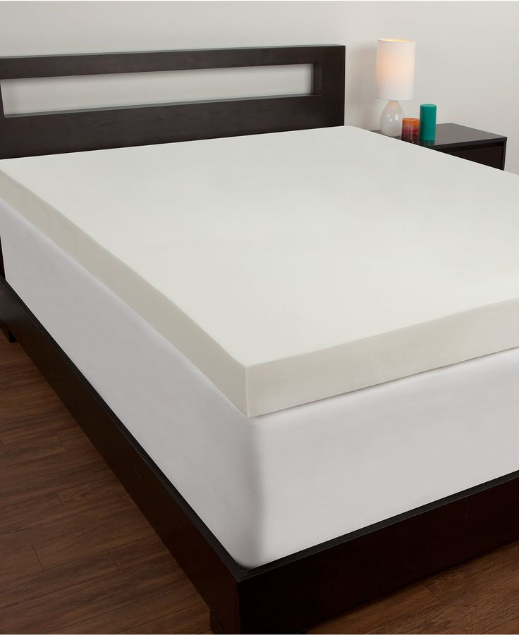 Comfort Revolution 4 Memory Foam Twin Xl Mattress Topper