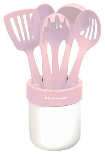 KitchenAid Cook for the Cure 6-Piece Utensil Set, Pink Lifetime Brands,http://www.amazon.com