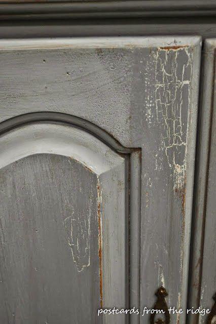 crackle paint, painted furniture, aged furniture, distressed furniture, waxed furniture, modern masters crackle medium