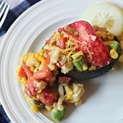 Lobster w/Avocado, Corn and Tomatoes | A taste for.....(1 )(Juli) | P ...