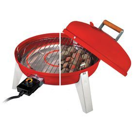 Americana 1500-Watt Red Electric Grill 2130.4.511