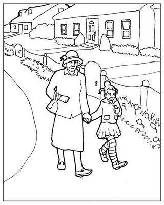 african american children coloring pages - photo#25