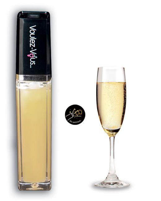 4100288000000 Gloss lumineux à effet chaud froid Vin pétillant - 10 ml