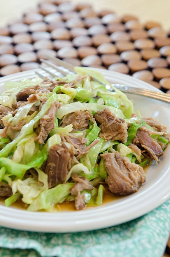 Totally Easy Slow-Cooker Kalua Pork | low carb yummy | Pinterest