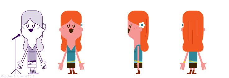 Character Designs « LouLou & Tummie
