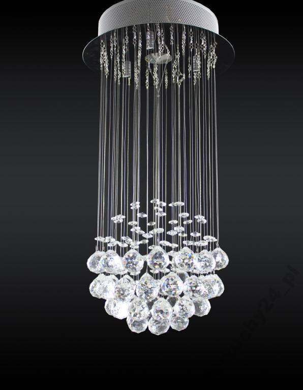 Żyrandol kryształowy Lampa kryształowa Dekoracyjna