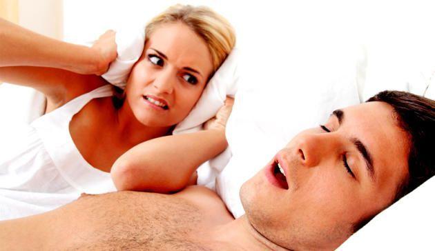 Schlafen ohne zu schnarchen