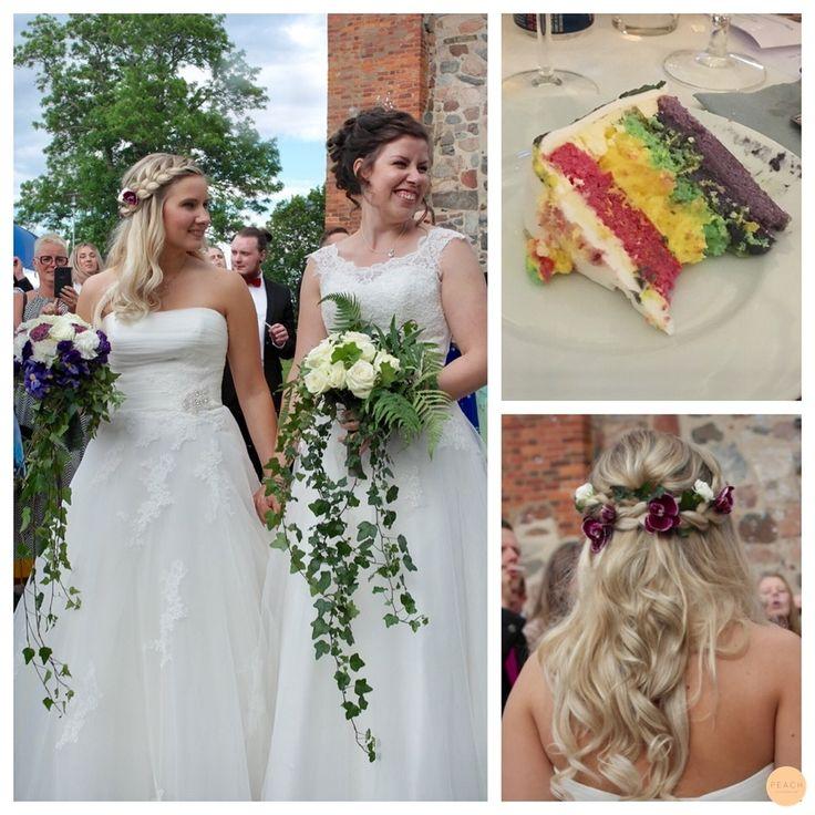 Pride Wedding :D Hairdo created by Jennie.