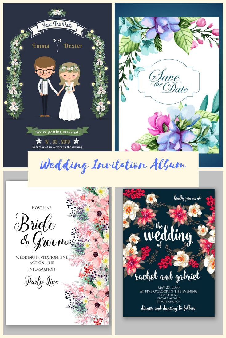 16 Completely Customized Chic And Economical Wedding Invitation Als Pinterest